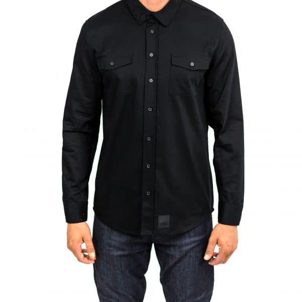 Recon Black – Long Sleeve Riding shirt
