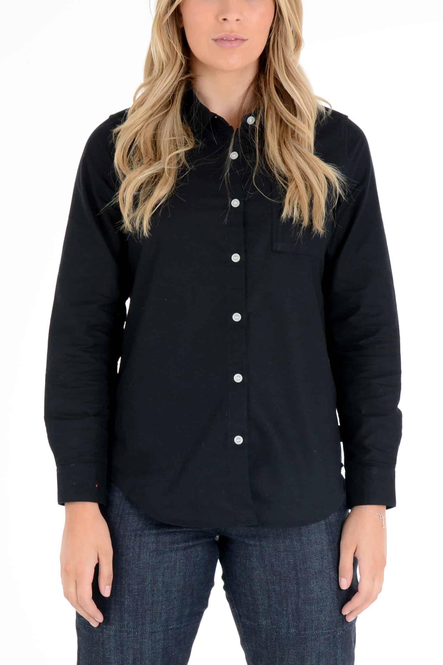 Skyline Black – Women's Long Sleeve shirt