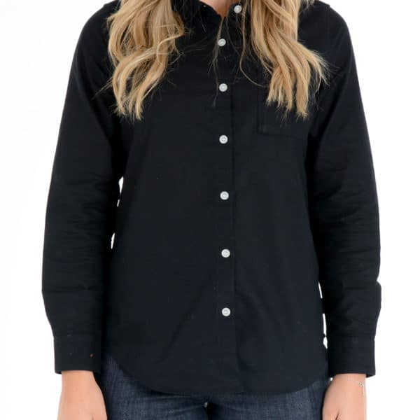 Skyline Black – Women's Long Sleeve shirt